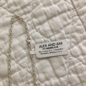 Alex and Ani Jewelry - ALEX AND ANI Blue Lotus Statement Necklace
